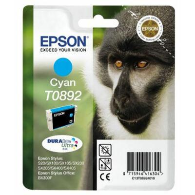 Epson T089240 (C) eredeti tintapatron (to892) (≈120oldal)