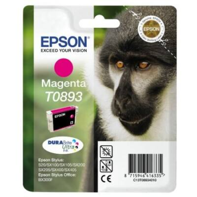 Epson T089340 (M) eredeti tintapatron (to893) (≈120oldal)