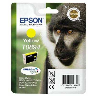 Epson T089440 (Y) eredeti tintapatron (to894) (≈120oldal)