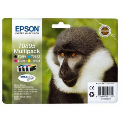 Epson T089540(Bk-C-M-Y) eredeti tintapatron csomag (≈540oldal)