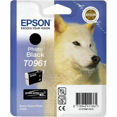 Epson T0961 Black eredeti tintapatron (to961) (≈350oldal)