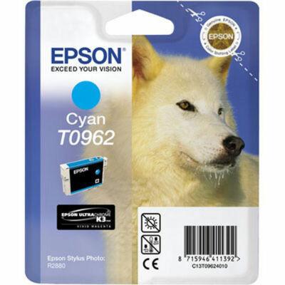 Epson T0962 Cyan eredeti tintapatron (to962) (≈350oldal)