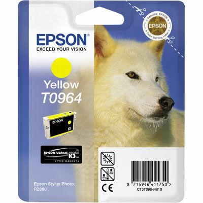 Epson T0964 Yellow eredeti tintapatron (to964) (≈350oldal)