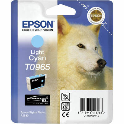 Epson T0965 Light Cyan eredeti tintapatron (to965) (≈350oldal)