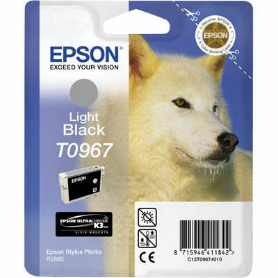 Epson T0967 Light black eredeti tintapatron (to967) (≈350oldal)