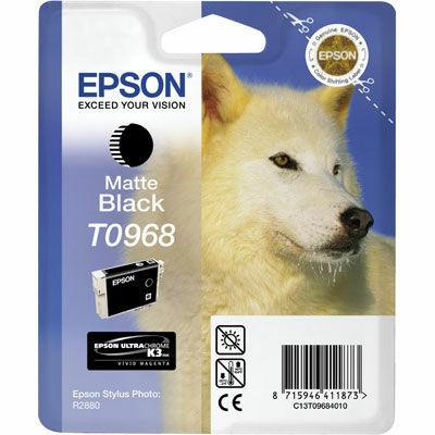 Epson T0968 Matt black eredeti tintapatron (to968) (≈350oldal)