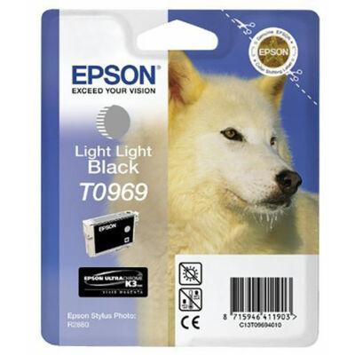 Epson T0969 Light light black eredeti tintapatron (to969) (≈350oldal)
