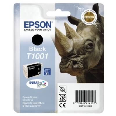 Epson T1001 BK (fekete) eredeti tintapatron (≈800oldal)