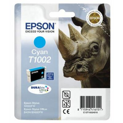 Epson T1002 C (cián) eredeti tintapatron (≈350oldal)