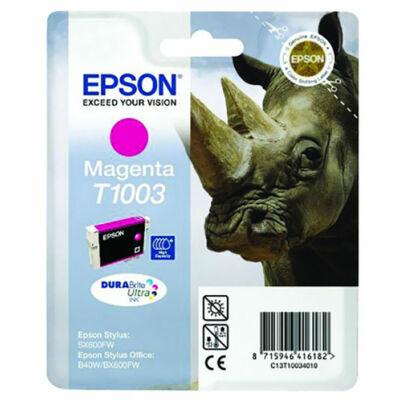 Epson T1003 M (magenta) eredeti tintapatron (≈350oldal)