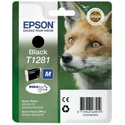 Epson T1281 Bk eredeti tintapatron (fekete) (≈185oldal)