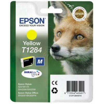Epson T1284 Y eredeti tintapatron (sárga) (≈120oldal)