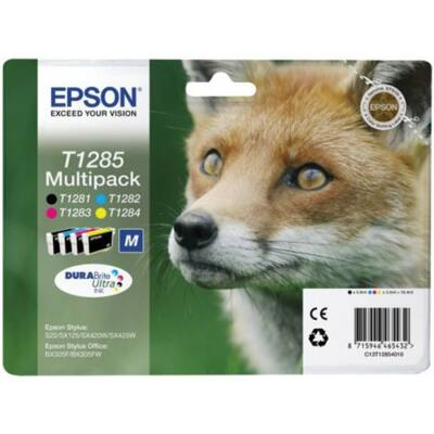 Epson T1285 eredeti tintapatron multipakk (4db) (≈545oldal)