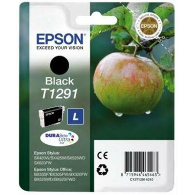 Epson T1291 fekete eredeti tintapatron BK (≈350oldal)