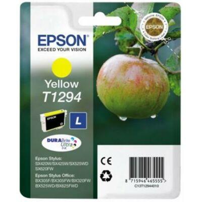 Epson T1294 sárga eredeti tintapatron Y (≈220oldal)