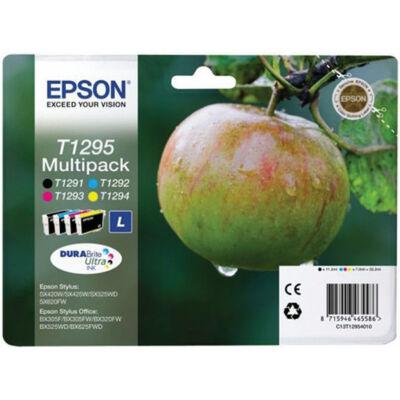 Epson T1295 eredeti tintapatron multipakk (bk/c/m/y) (≈1010oldal)