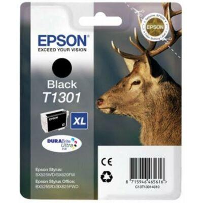 Epson T1301 (Bk) eredeti tintapatron (≈800oldal)