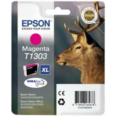 Epson T1303 (M) magenta eredeti tintapatron (≈330oldal)