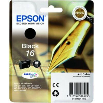 Epson T16214010 fekete eredeti tintapatron (≈175oldal)