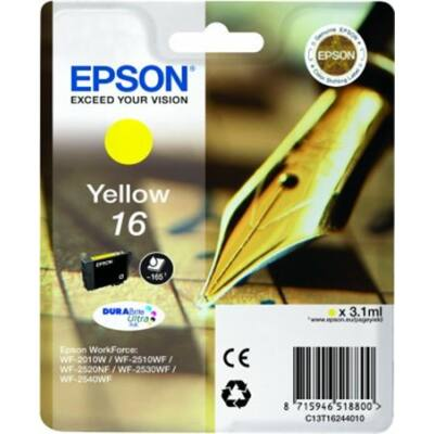 Epson T16244010 Sárga eredeti tintapatron (≈165oldal)