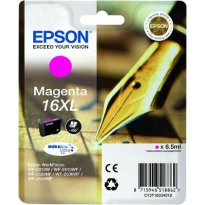 Epson T16334010 magenta (No. 16XL) eredeti tintapatron (≈450oldal)
