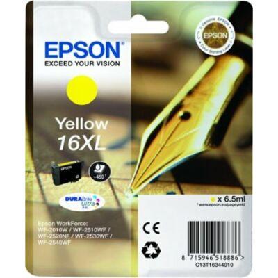 Epson T16344010 sárga (No. 16XL) eredeti tintapatron (≈450oldal)