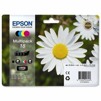 Epson T18064010 (Nr.18) eredeti  tintapatron multipakk (≈475oldal)
