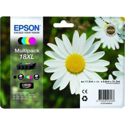 Epson T18164010 (Nr.18) XL eredeti  tintapatron multipakk (≈1820oldal)