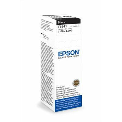 Epson® T6641 eredeti fekete tinta L100/L200 (70ml) (T6721) (≈4000oldal)