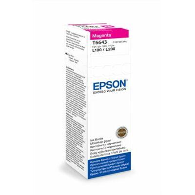 Epson® T6643 magenta tinta L100/L200 (70ml) (T6723) (≈6500oldal)