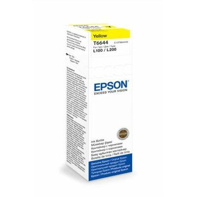 Epson® T6644 eredeti sárga tinta L100/L200 (70ml)  (T6724) (≈6500oldal)