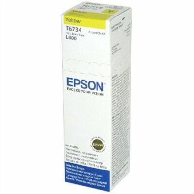 Epson T6734 sárga tinta L800 (70ml) (≈6500oldal)