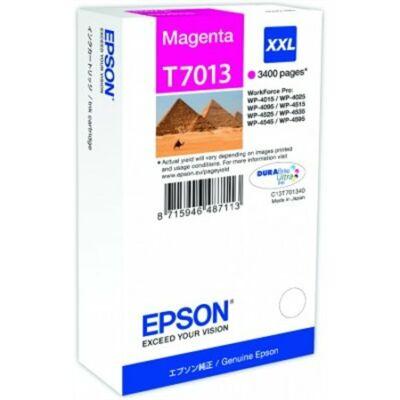 Epson T7013 M XXL eredeti tintapatron (magenta) 3400 oldalas! (≈3400oldal)