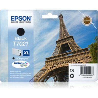 Epson T7021 BK XL eredeti tintapatron (fekete) 2400 oldalas (≈2400oldal)