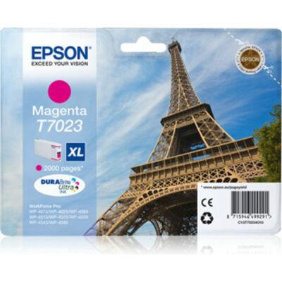 Epson T7023 M XL eredeti tintapatron (magenta) 2000 oldalas (≈2000oldal)