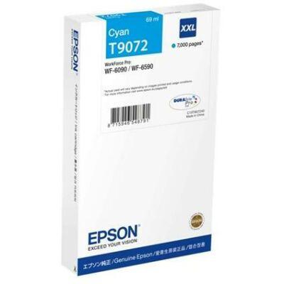 Epson T9072 XXL extra nagy kapacitású cyan eredeti patron
