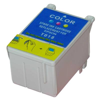 Epson -hoz T018401 C.M.Y. utángyártott tintapatron (to18) (≈900oldal)