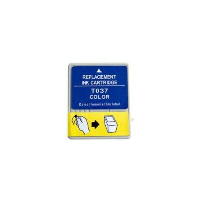 Epson -hoz T037040 C.M.Y. utángyártott tintapatron (to37) (≈990oldal)