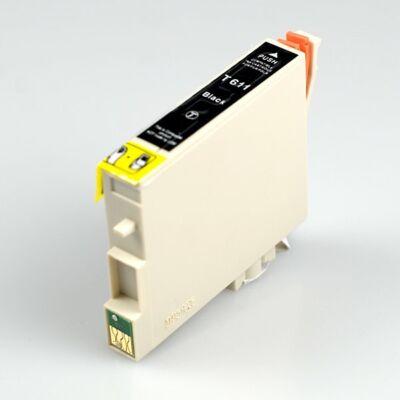 Epson -hoz, T0611 BK (fekete) utángyártott tintapatron  (~450 oldal)