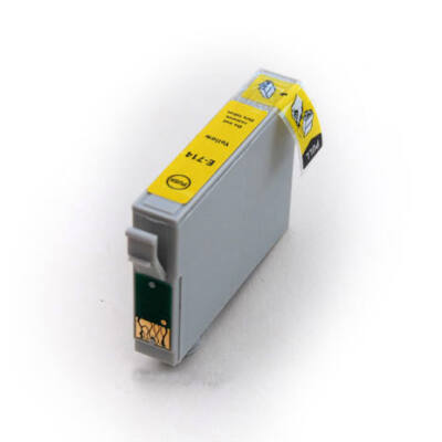Epson nyomtatóhoz T0714 (T0894) sárga utángyártott tintapatron (to714)V6.0 (≈400oldal)