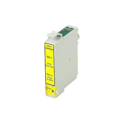 Epson -hoz T0874 Y sárga utángyártott tintapatron (To87) (≈400oldal)