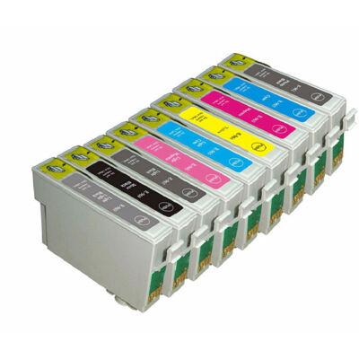 Epson -hoz T0961 Bk utángyártott tintapatron (to961) (≈420oldal)