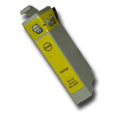 2db-tól 230,-Ft/db! Epson nyomtatóhoz T1304 Y utángyártott tintapatron (to1304) (≈500oldal)  !!!KIFUTÓ!!! Csak amíg van készleten!