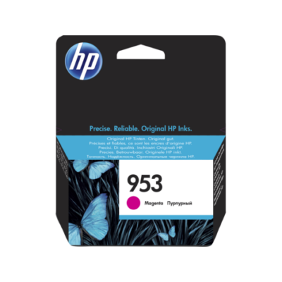 HP Nr.953 (F6U13AE) eredeti magenta tintapatron, ~700 oldal