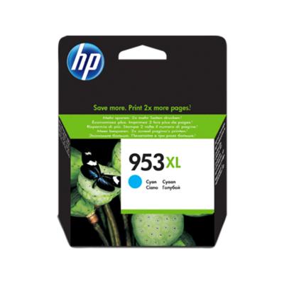 HP Nr.953XL (F6U16AE) eredeti cián tintapatron, ~1600 oldal