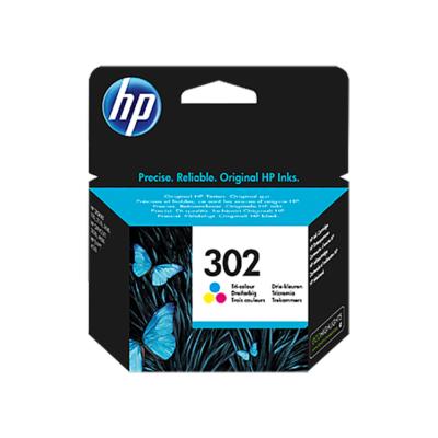 HP Nr.302 (F6U65AE) eredeti színes tintapatron, ~165 oldal