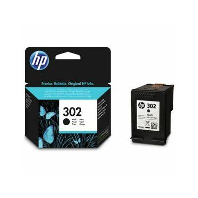 HP Nr.302 (F6U66AE) eredeti fekete tintapatron, ~190 oldal
