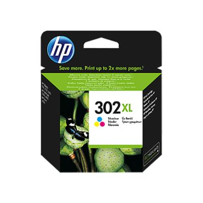 HP Nr.302XL (F6U67AE) eredeti színes tintapatron, ~330 oldal