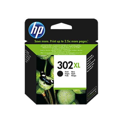 HP Nr.302XL (F6U68AE) eredeti fekete tintapatron, ~480 oldal