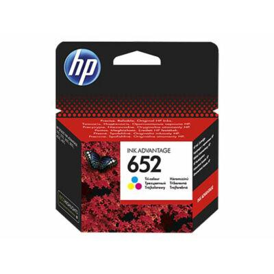 HP Nr.652 (F6V24AE) eredeti színes tintapatron, ~200 oldal